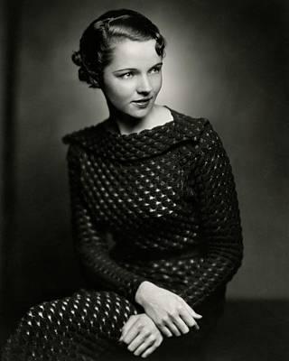Jane Wyatt Wearing A Dress Poster