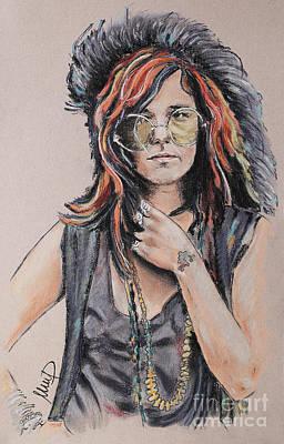 Janis Joplin Poster by Melanie D