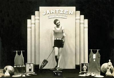 Jantzen Swim Suit Display Poster by Underwood Archives