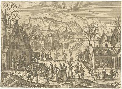 January, Pieter Van Der Borcht Poster