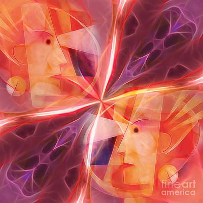 Janus Poster by Lutz Baar
