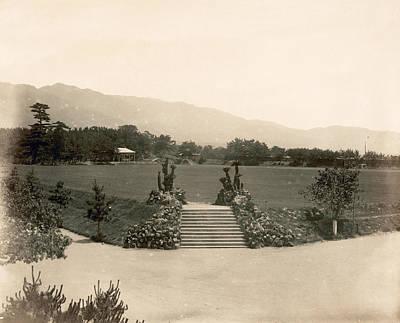 Japan Kobe, 1880s Poster