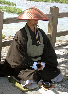 Japanese Buddhist Monk Poster by Pg Reproductions