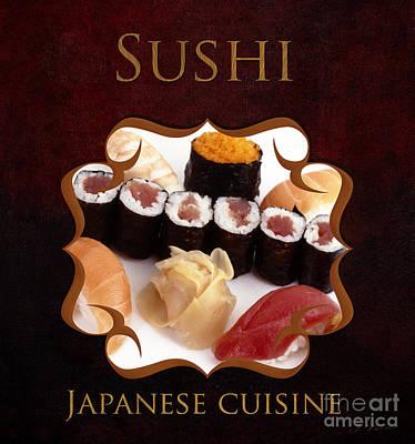 Japanese Cuisine Gallery Poster by Iris Richardson