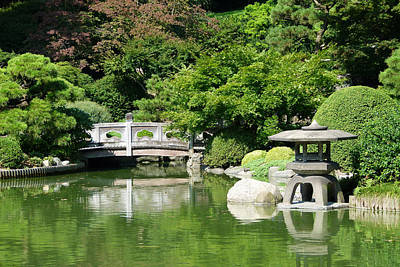 Poster featuring the photograph Japanese Friendship Garden by Cindy McDaniel