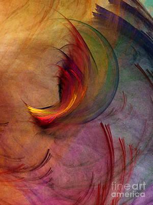 Japanese Garden-abstract Art Poster