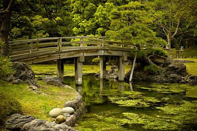 Japanese Garden Tokyo Poster by Sebastian Musial