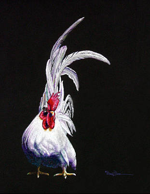 Japanese Rooster Poster