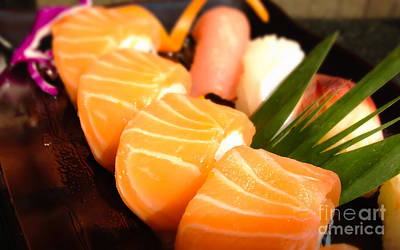 Japanese Sushi Poster by Fototrav Print