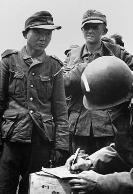 Japanese Youth, Wearing A Nazi Uniform Poster by Everett