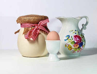 Jar And Egg Poster