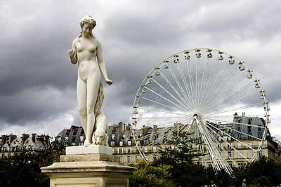 Jardin Des Tuileries Poster by Fabrizio Troiani