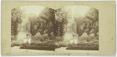 Jardins Reserves, Rond-point Du Centaure Poster