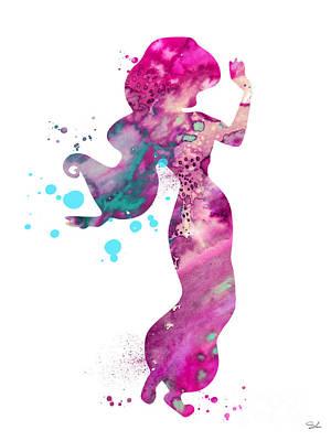 Jasmine Poster by Luke and Slavi