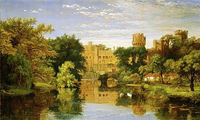 Jasper Francis Cropsey, Warwick Castle, England Poster