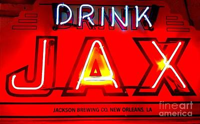 Jax Beer Of New Orleans Poster