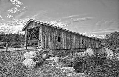 Jay Covered Bridge Poster