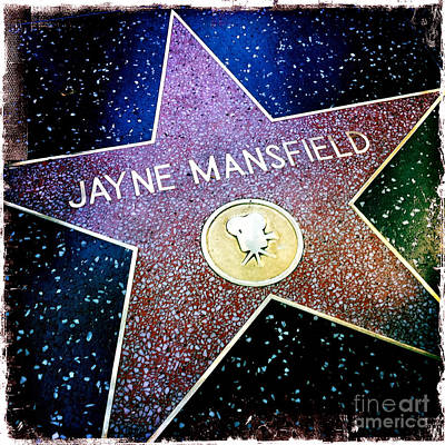Jayne Mansfield Star Poster