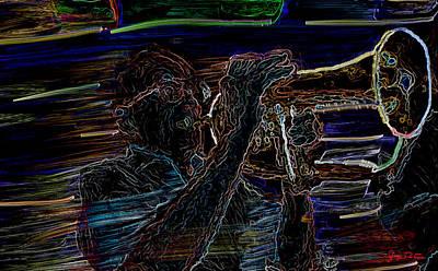 Jazz Man Jack Poster