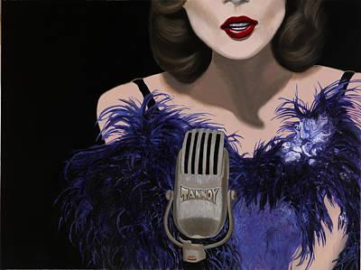 Jazz Poster by Marcella Lassen