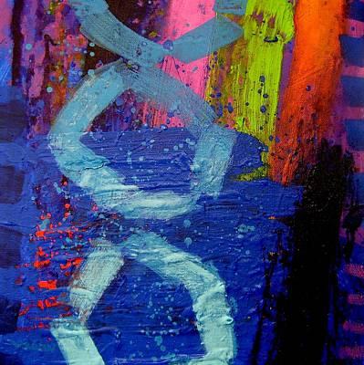 Jazz Process - Improvisation Poster by John  Nolan