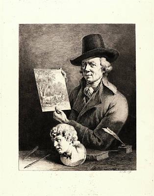 Jean Jacques De Boissieu French, 1736 - 1810. Self-portrait Poster