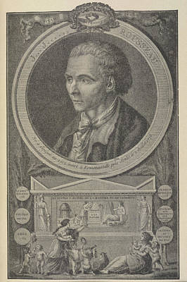 Jean Jacques Rousseau Poster by British Library