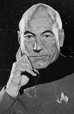 Jean Luc Picard Poster