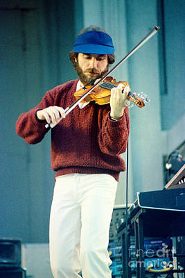 Jean Luc Ponty At The Greek Theater In Berkeley Ca 1980 Poster