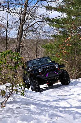 Jeep 3 Poster by J Scott Davidson