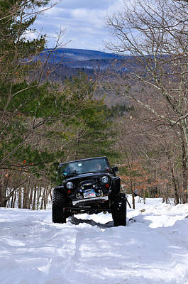 Jeep 9 Poster by J Scott Davidson