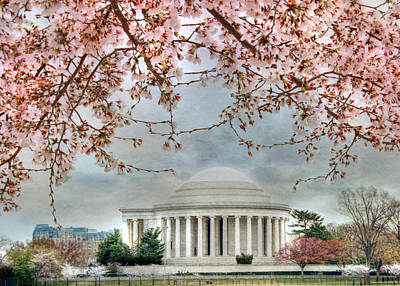 Jefferson Blossoms Poster by Lori Deiter