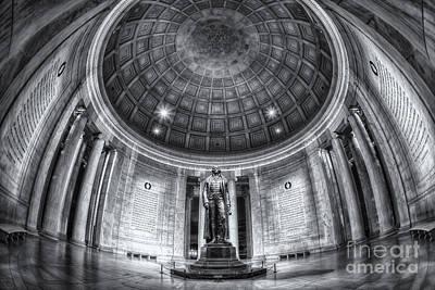 Jefferson Memorial Interior II Poster