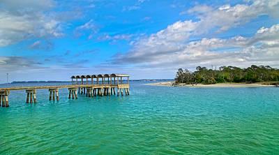 Jekyll Island Just Like Paradise Poster by Betsy Knapp