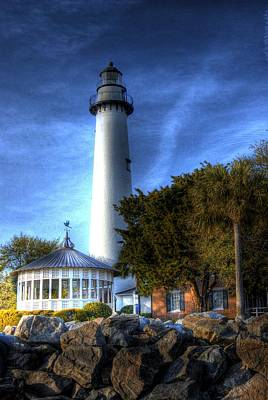 Poster featuring the photograph Jekyll Island Lighthouse by Donald Williams