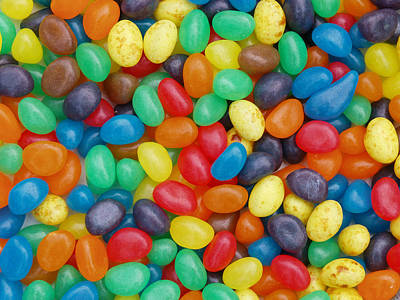 Jelly Beans Poster by Ron Harpham