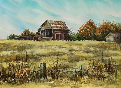 Jennings Barn Poster by Lynne Haines