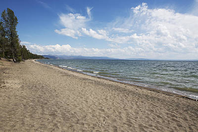 Poster featuring the photograph Yellowstone Lake by Belinda Greb
