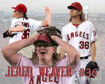 Jered Weaver Poster