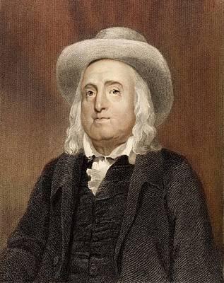 Jeremy Bentham Poster by Paul D Stewart