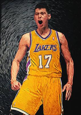 Jeremy Lin Poster by Taylan Apukovska
