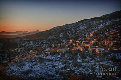 Jerome Sunrise From Sunshine Hill Poster