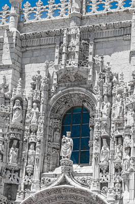 Jeronimos Monastry Church Lisbon Poster by Paul Donohoe