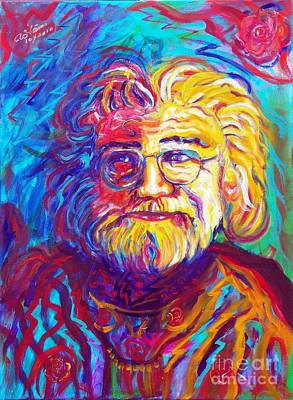 Jerry Garcia 1 Poster by To-Tam Gerwe