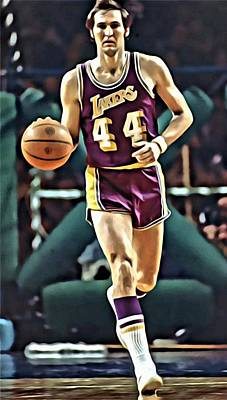 Jerry West Poster