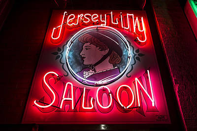 Jersey Lilly Saloon Poster