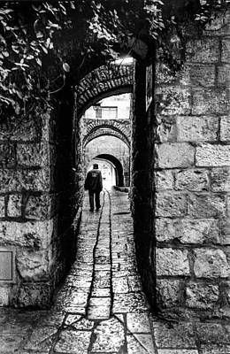 Jerusalem Alley Poster by Paul Haist