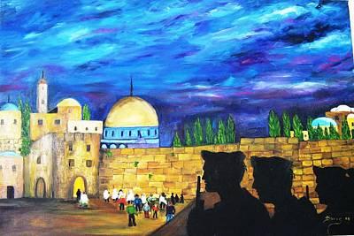 Jerusalem Poster by Doris Cohen