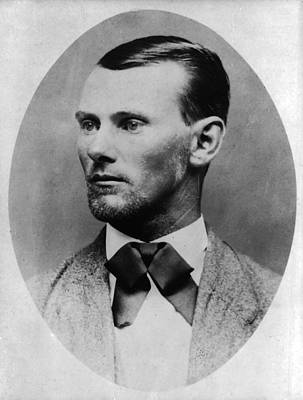 Jesse James Poster by Bill Cannon