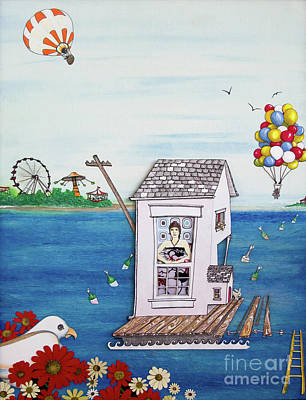Jessica's Houseboat Poster